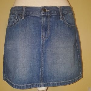 Old Navy denim skirt